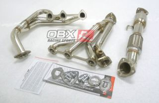 OBX Exhaust Header 99 05 Pontiac Grand Am 3 4L V6 3400 Headers