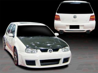 1999 2004 Volkswagen Golf AIT Racing GTR Style Complete Body Kit Bumper Skirts