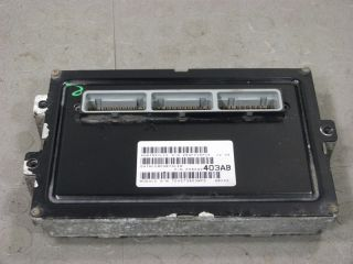 00 Dodge RAM Van 5 9 PCM ECU ECM Engine Computer Control Unit 56040403AB 403