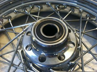 Harley Davidson Softail Dyna Fat Boy Front Wheel Rim Tire Hub