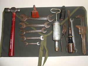 Vintage WW2 GPW Jeep Willys Ford MB Military Tool Kit WWII