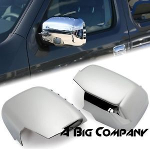 2006 2011 Honda Ridgeline Pickup Truck Chrome Side Mirror Covers Rear View Trim