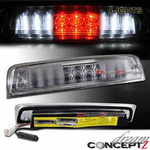 2009 2012 Dodge RAM 1500 3500 LED 3rd Tail Brake Light Cargo Chrome Style L E D