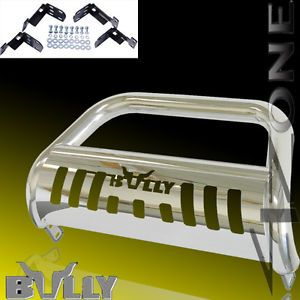 2002 2005 Dodge RAM 1500 Bumper Grille Guard Light Push Bull Bar w Skid Plate