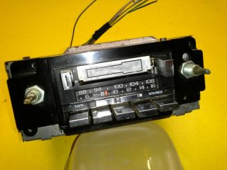 70s 80s Vintage GM Delco Am FM Cassette Radio Chevy Buick Olds Pontiac