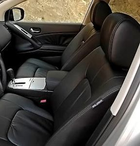 2009 2010 Nissan Murano Leather Interior Seat Cover Blk