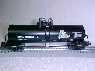 Lionel MCP Tanker Train Tank Car Rolling Stock O Gauge Oil Fuel 6 27408