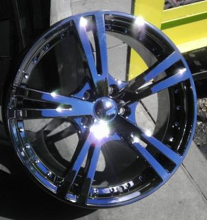 "16"" inch 5x115 Phantom Chrome PVD Wheels Rims 5 Lug Buick Saturn Pontiac Olds"
