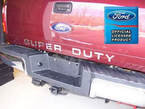 Ford F250 Super Duty Tailgate Letter Insert Decals