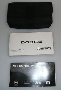 2010 10 Dodge Journey Factory Owners Manual … Free SHIP
