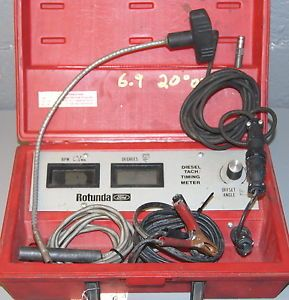 Rotunda 78 0100 Diesel Tach Timing Meter Ford Truck Special Service Tool Kit