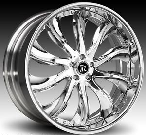 "24"" inch Rucci Forged Wheels Dodge Charger Challenger asanti Forgiato"