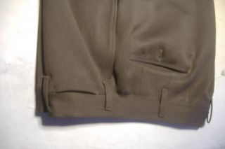 Vintage WWII Army Military US Officers Lt Uniform 5th Air Force Shirt Pants 3 4