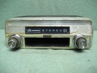 1967 Mopar Plymouth Dodge Chrysler Accessory 8 Track Tape Player not Working