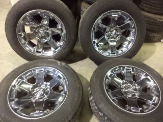 09 10 11 12 13 Dodge 1500 20 inch Chrome Clad Aluminum Wheels and Tires BB1016H