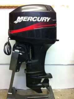 2004 Mercury 40 HP 2 Stroke Rebuilt Outboard Motor Boat Engine 50 Water Ready