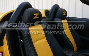 2003 2008 Nissan 350Z Custom Leather Interior Seat Covers