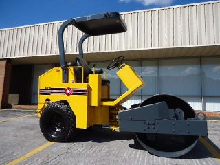 Stone SD54 Smooth Drum Vibratory Compactor Roller with John Deere Diesel