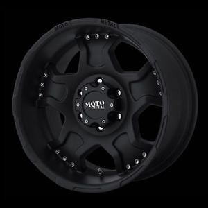 "17"" Moto Metal Black Rims with 265 70 17 Nitto Terra Grappler at Tires Wheels"