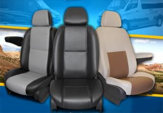 2002 2013 Sprinter Leather Interior Kit Seat Covers