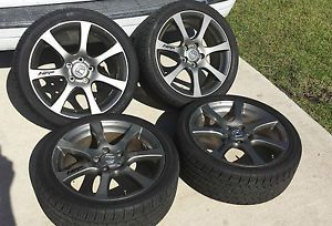 2010 Honda Factory Performance Rims Wheels Tires Accord Civic 5x114 3