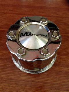 MB Motoring Small Aftermarket Alloy Chrome Wheel Center Cap Snap in BC 582