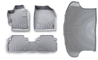 2010 2012 Chevy Equinox GMC Terrain Maxfloormat Floor Mats Full Set Gray Liner