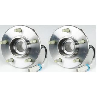 Front Wheel Hub Bearing Assembly New Pair Set for Equinox Torrent Vue w ABS