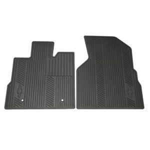 2010 2013 Chevrolet Equinox Front Rear Cargo All Weather Rubber Floor Mats