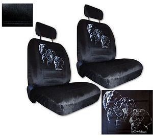 Seat Covers Car Truck SUV Dachshund Silhouette Low Back PP 2