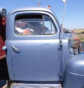 1951 1952 1950 Ford Pickup Truck Cab Rat Rod Nice No Rust with Doors Gauges Seat