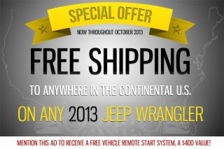 Jeep Wrangler 2013 Unlimited Sport