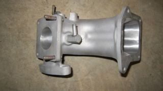 1986 Ford Mustang SVO Upper Intake Modified
