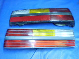 1983 1986 Ford Mustang 1993 SVT Cobra GT SVO Rear Tail Light Set Factory Stock