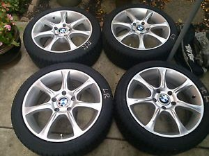 "BMW 330i 17"" Wheels Winter Snow Tires Fits 135i 330CI 328i 328CI 335i Z4"
