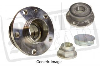 Skoda Roomster 1 9 TDI Rear Wheel Bearing Hub Axle Kit BLS BSW 105 06 10