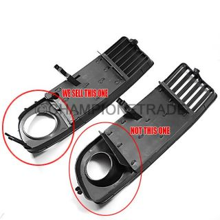 1x Right Side Front Fog Light Side Grille for Audi A6 C5 Avant Quattro 1998 2001