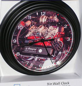 1969 Dodge 440 Six Pack Muscle Car Engine Custom Wall Clock