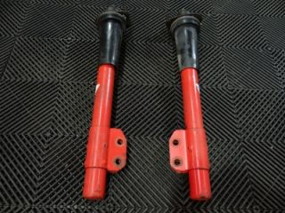 84 85 86 Ford Mustang SVO Koni Red Adjustable Front Struts Tested Red Turbo 2 3