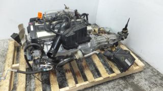 JDM Nissan Skyline GT s r33 RB25DE NA Engine 5SPEED Transmission RB25 ECU 240sx