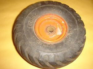 Vintage Firestone Ground Grip Tire 21 00 24 Gum Toy Pressed Steel Truck Car