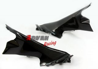 Ducati Panigale 1199 Carbon Fiber Fibre Kohlefaser Air Ducts Cover Fairings