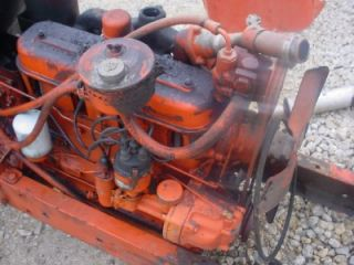 Good WD45 Allis Chalmers Tractor Running Engine Motor AC WD45