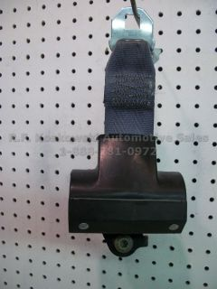 Rear Seat Belt Retractor Ford Ranger Pickup Truck Super Cab Gray