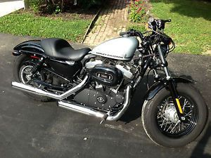2011 Harley Davidson Forty Eight Sportster 1200 Extended Warranty Xtra Seat