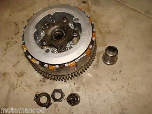 87 Yamaha Warrior 350 ATV YFM 88 89 Complete Clutch Pac Pasket Discs Plate Hub