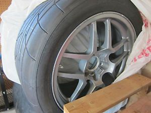 Corvette C5 C5Z Z06 Wheels Nitto NT555RI Tires