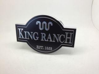 Ford King Ranch Hitch Cover Plug