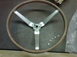 Orig 1969 1970 1971 Pontiac GTO Wood Steering Wheel incl '69 Horn Parts Collar
