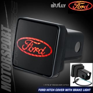 Bully Ford Trailer F150 F250 F350 Pickup Brake Hitch Cover Plug